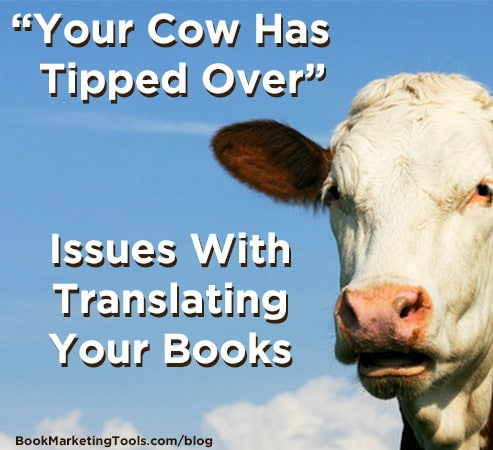 your cow has tipped over