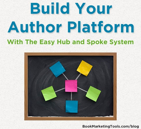 build your author platform with the easy hub and spoke