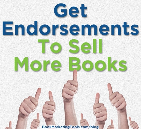 get endorsements to sell more books