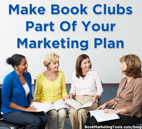 make book clubs part of your marketing plan