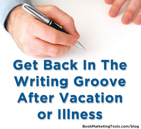 get back in the writing groove1