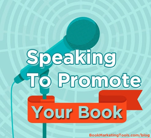 speaking to promote your book