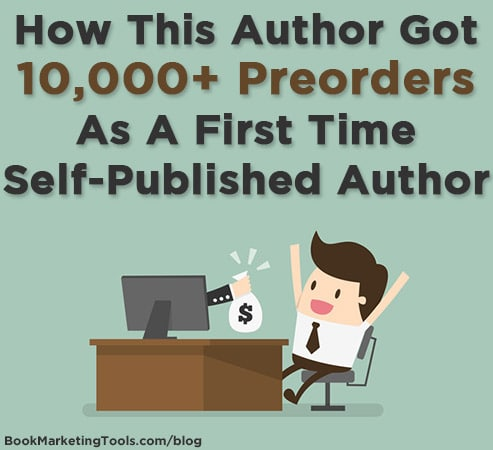 how this author got 10000 preorders