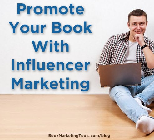 promote your book with influencer marketing