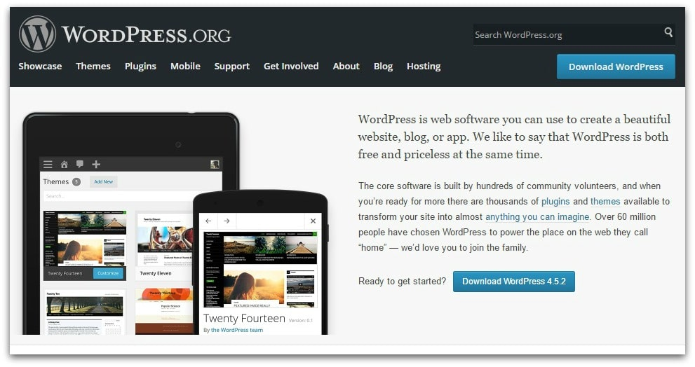 WordPress.org for authors