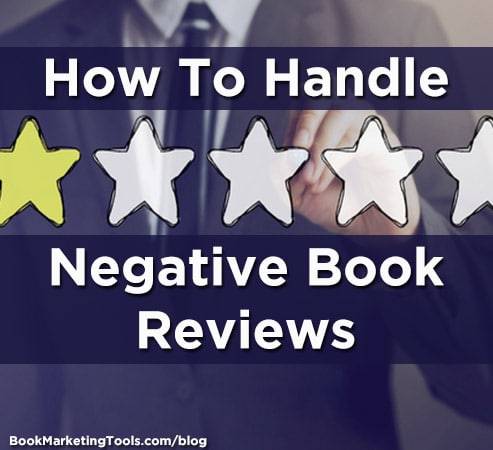 how to handle negative book reviews