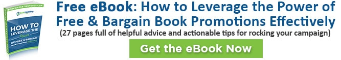 FREE EBOOK: Learn how to leverage free and bargain book promotions effectively.
