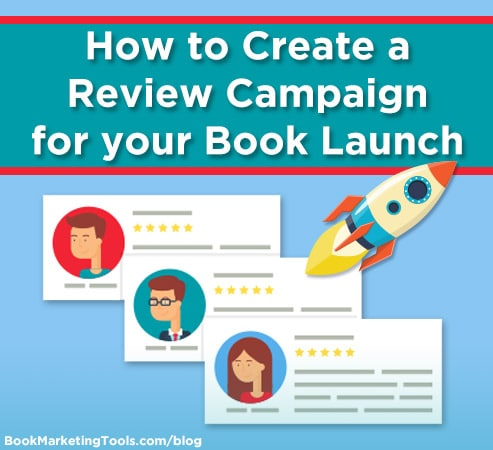 how to create a review campaign for your book launch
