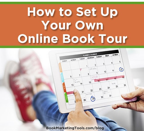 how to set up your own online book tour